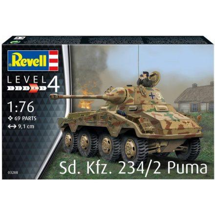Revell Sd.Kfz.234/2 Puma makett