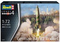 Revell German A4/V2 Rocket makett