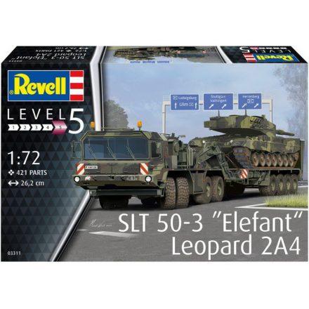 Revell SLT 50-3 'Elefant' & Leopard 2A4 makett