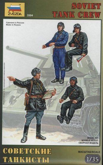 Zvezda Soviet Tank Crew