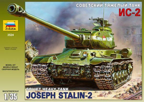 Zvezda Josef Stalin 2. Soviet Heavy Tank makett