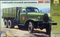 Zvezda ZIS-151 Soviet Truck 6x6 makett
