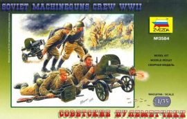 Zvezda Soviet Machineguns with Crew (II.vh.)