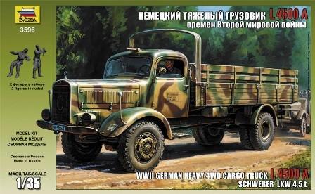 Zvezda Dt.Transport-LKW L4500A
