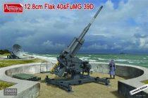 Amusing Hobby 12.8cm Flak 40 & FuMG 39D makett
