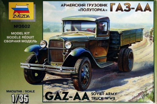 Zvezda GAZ-AA Soviet Army 1,5 Ton Truck