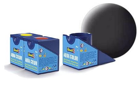Revell Aqua Color 6 Tar Black Matt