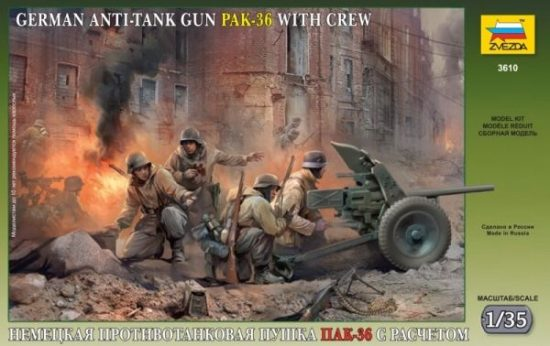 Zvezda PAK 36 with Crew makett
