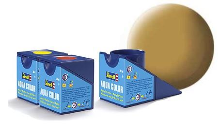 Revell Aqua Color 16 Sandy Yellow Matt