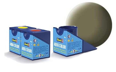 Revell Aqua Color 45 Light Olive Matt