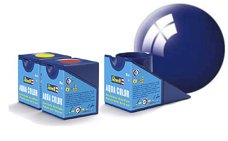 Revell Aqua Color 51 Ultramarine Blue Gloss