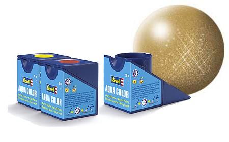 Revell Aqua Color 94 Gold Metallic