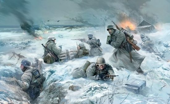 Zvezda German Infantry Winter 1941/42