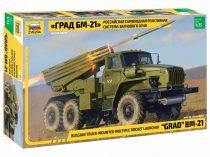 Zvezda BM-21 Grad Rocket Launcher makett