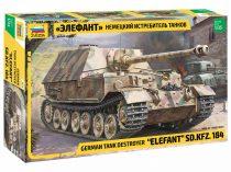 Zvezda Elefant Sd.Kfz.184 makett