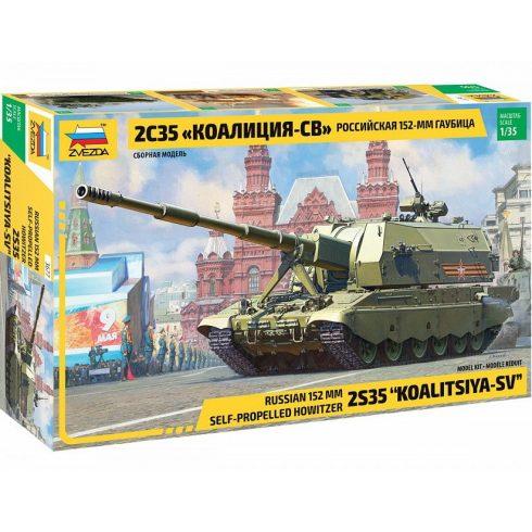 Zvezda Koalitsiya-SV Russian S.P.G. makett