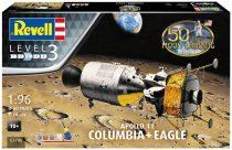 Revell Model Set Apollo 11 Columbia & Eagle (50 Years Moon Landing) makett