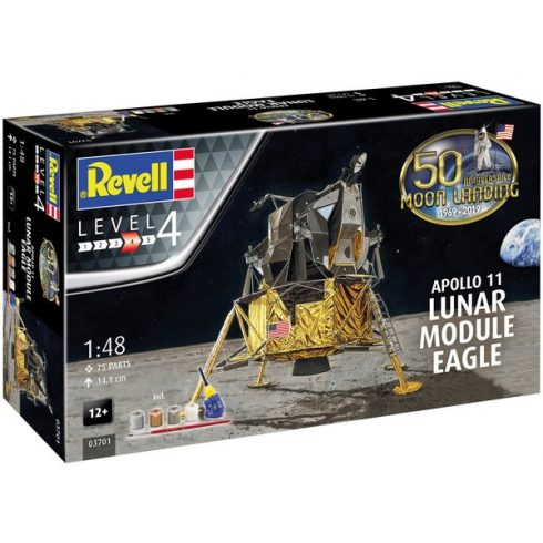 Revell Model Set Apollo 11 Eagle Lunar Module (50 Years Moon Landing) makett
