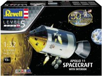 Revell Model Set Apollo 11 Spacecraft with Interior (50 Years Moon Landing) makett