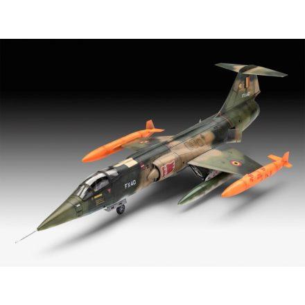 Revell Lockheed F-104G Starfighter RNAF/BAF makett