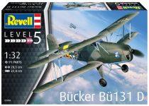 Revell Bucker Bu-131D Jungmann makett