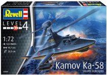 Revell Kamov KA-58 Stealth makett
