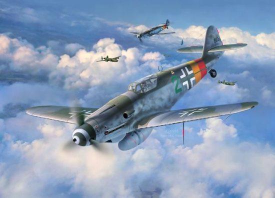 Revell Messerschmitt Bf109 G-10 makett