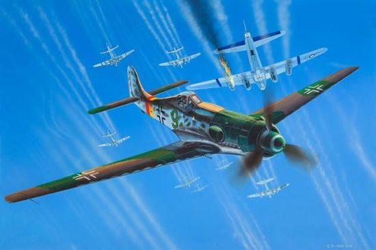 Revell Focke Wulf Ta 152H makett