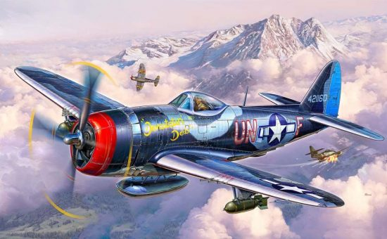 Revell P-47 M Thunderbolt makett