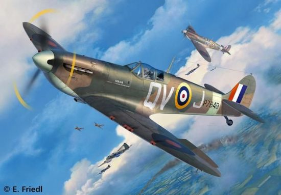 Revell Spitfire Mk.II makett