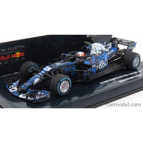 Minichamps ASTON MARTIN  F1 RB14 TEAM ASTON MARTIN TAG HEUER N 3 SHAKEDOWN LIVERY SILVERSTONE GP 2018 D.RICCIARDO
