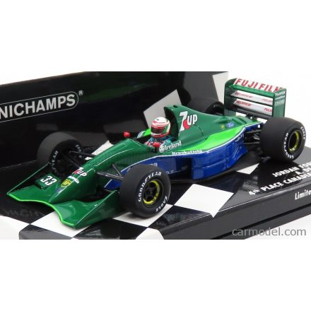 MINICHAMPS JORDAN F1 191 FORD N 33 4th CANADIAN GP 1991 A.DE CESARIS
