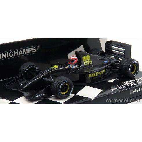MINICHAMPS JORDAN F1 FORD 911 N 99 SILVERSTONE GP 1990 JOHN WATSON