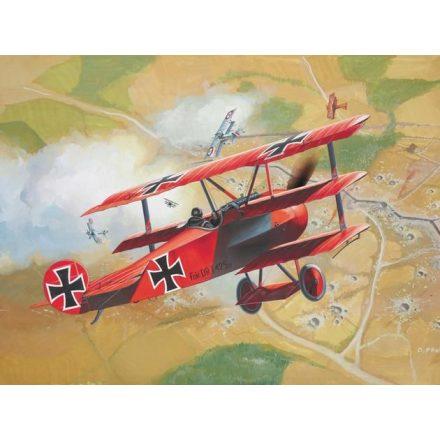 Revell Fokker DR.1 makett