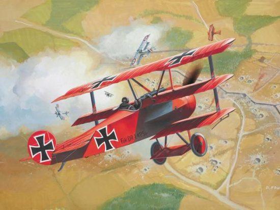 Revell Fokker DR.1