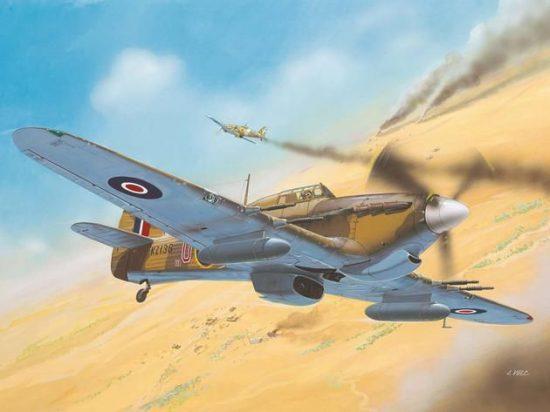 Revell Hawker Hurricane Mk IIC makett
