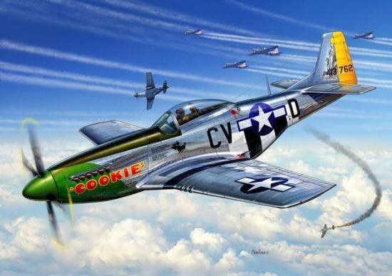 Revell P-51D Mustang makett