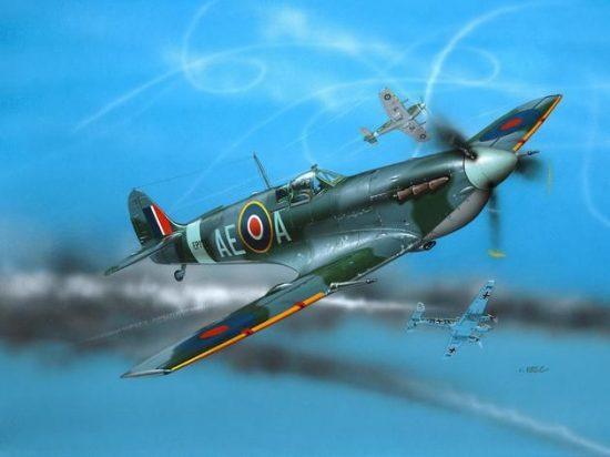 Revell Supermarine Spitfire Mk V makett