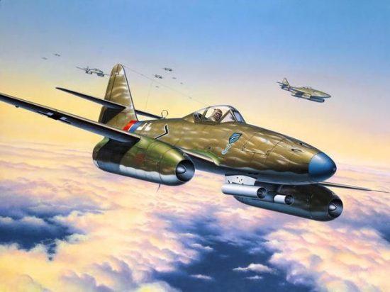Revell Messerschmitt Me 262 A1a makett