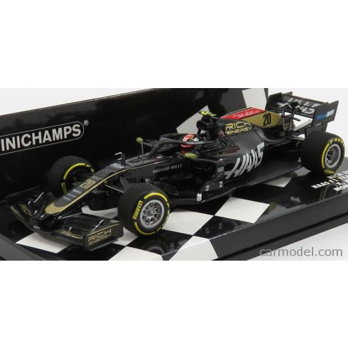 MINICHAMPS HAAS F1 VF-19 TEAM RICH ENERGY N 20 MONACO GP 2019 K.MAGNUSSEN