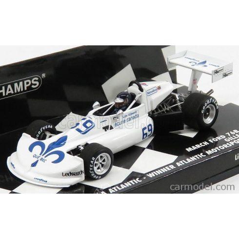 MINICHAMPS MARCH FORD 76B COSWORTH FORMULA ATLANTIC N 69 WINNER MOTORSPORT PARK 1976 GILLES VILLENEUVE