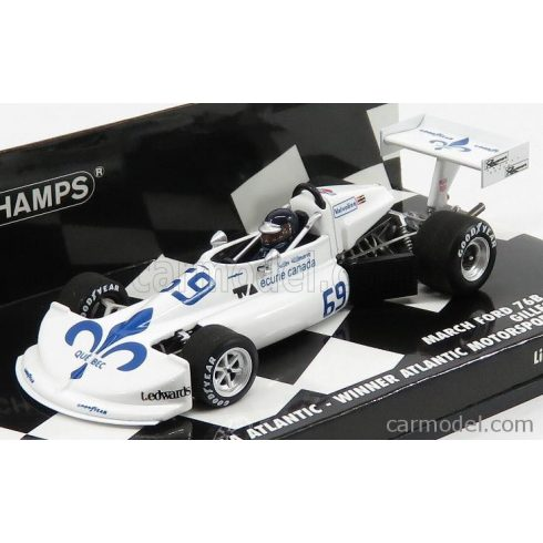 MINICHAMPS MARCH FORD 76B COSWORTH FORMULA ATLANTIC N 69 WINNER MOTORSPORT PARK 1976 GILLES VILLENEUVE