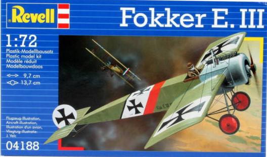 Revell Fokker E-III makett