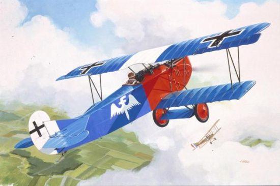 Revell Fokker D VII makett