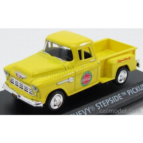 Motor City Classic CHEVROLET - STEPSIDE PICK-UP COCA-COLA 1955