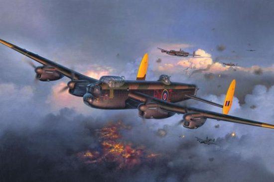 Revell Avro Lancaster Mk. I/III makett