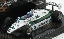 Minichamps Williams F1 FW08 TEAM FORD N 6 KEKE ROSBERG SEASON 1982 WORLD CHAMPION