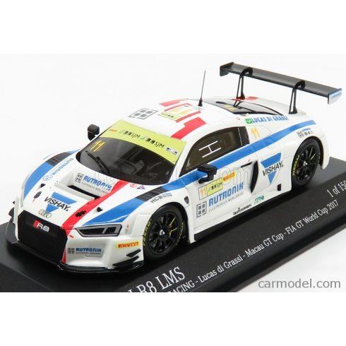 Minichamps AUDI  R8 LMS TEAM HCB RUTRONI RACING N 11 FIA WORLD GT CUP MACAU 2017 L.DI GRASSI