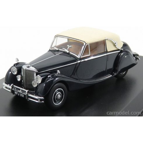 OXFORD MODELS JAGUAR MKV CABRIOLET CLOSED 1950