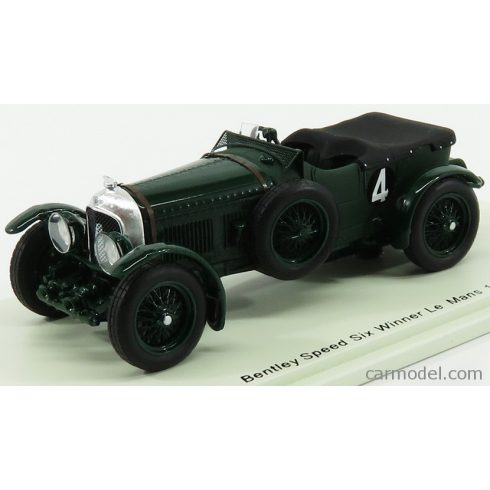 SPARK-MODEL BENTLEY SPEED SIX N 4 WINNER 24h LE MANS 1930 W.BARNATO - G.KIDSTON